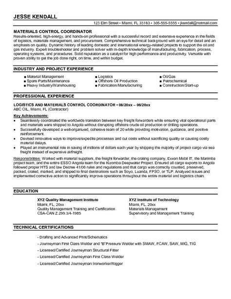 Logistics Coordinator Resume by Logistics Coordinator Resume Sle Diplomatic