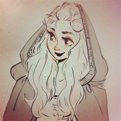 hairstyles instagram ink tonight s ink sketch lady in a cloak character design