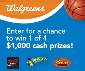 Walgreens Monthly Sweepstakes - win big sweepstakes round up