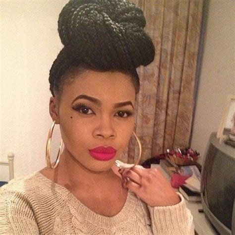100 captivating braided hairstyles for black girls medium length box braids hairstylegalleries com
