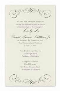 formal wedding invitation wording theruntime