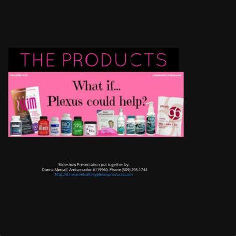 plexus products by danna metcalf