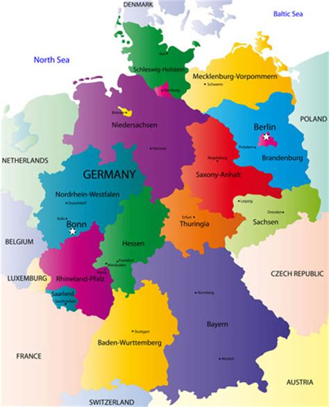 germany map printable printable state maps images