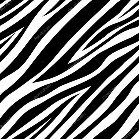 pattern zebra vector illustration of seamless zebra pattern stock