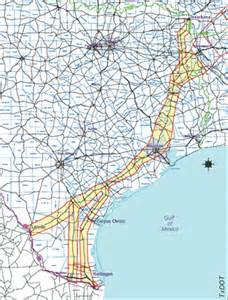 trans corridor map roads trans corridor july august 2005