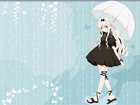 Anime Umbrella anime with umbrella wallpapers and images