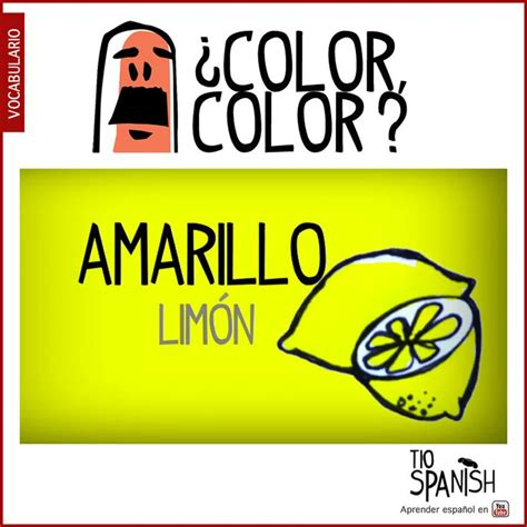 spanish for yellow spanish for yellow espanol vocabulario as 25 melhores ideias de spanish vocabulary list no