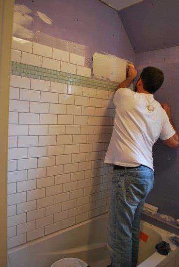 diy bathroom wall tile project bathroom tiling the sweetest digs