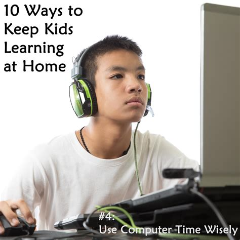 Kid On Computer Meme - 10 ways to keep kids learning when they re not in school