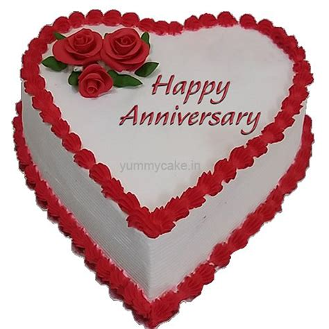 Wedding Anniversary Quotes For Cakes by Anniversary Shape Cake Free Shipping In Delhi Ncr