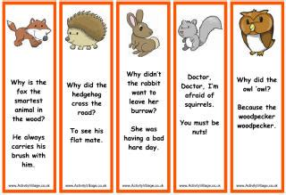 farm animal bookmarks facts wildlife bookmarks to print for kids