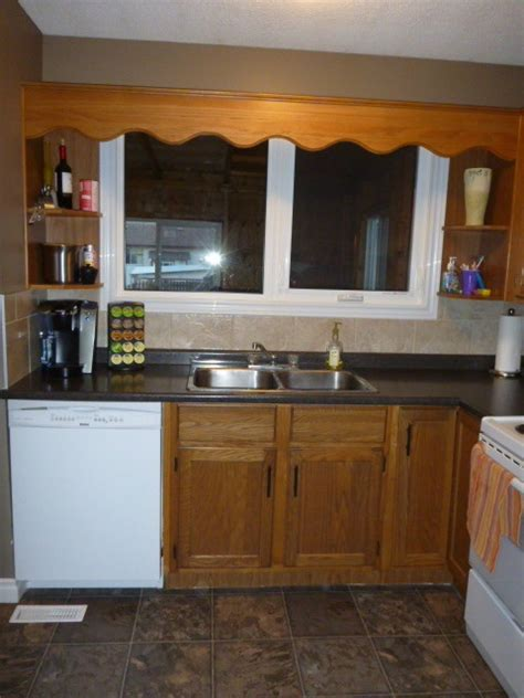 outdated kitchen cabinets outdated kitchen needs a quick fix