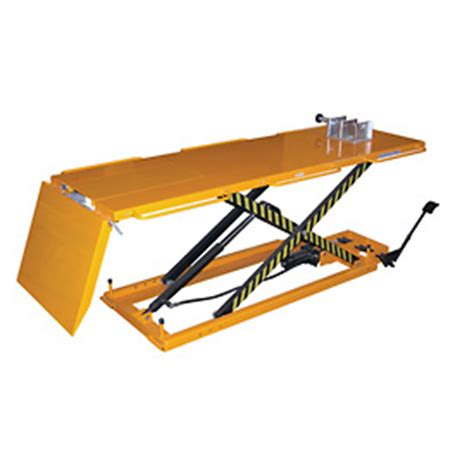 hydraulic motorcycle bench scissor lifts lift tables lift tables stationary