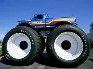 tyres big foot customised car usa post