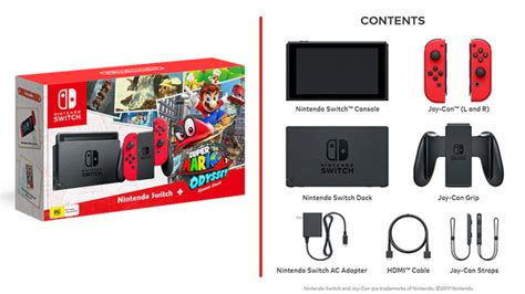 mario console nintendo switch mario odyssey console the gamesmen