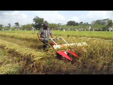 Mesin Giling Jagung Alat Panen Yanmar Potong Padi