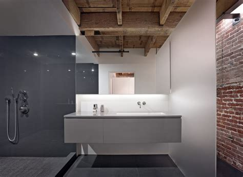 warehouse bathrooms the huot residence in the oriental warehouse modern