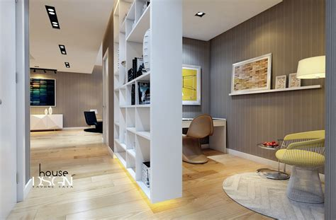Living Room Office Nook Inspirational Interior Ideas From Bauhaus Architects