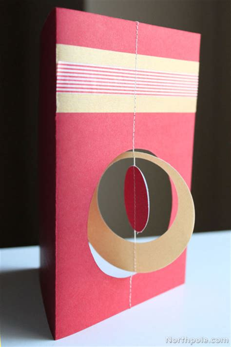 spinning card template spinning ornament card