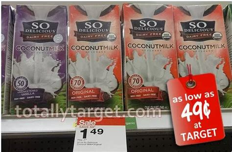 Shelf Stable Coconut Milk by Target So Delicious Shelf Stable Coconutmilk 0 49