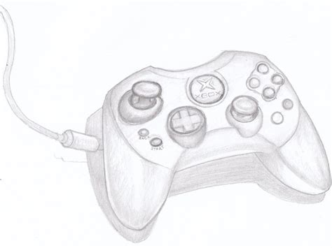 Drawing Xbox by Xbox Joystick By Jeffreylamar On Deviantart
