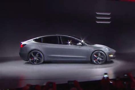 Tesla Home Page Tesla Model 3 Pricing Leaked By Tesla Site