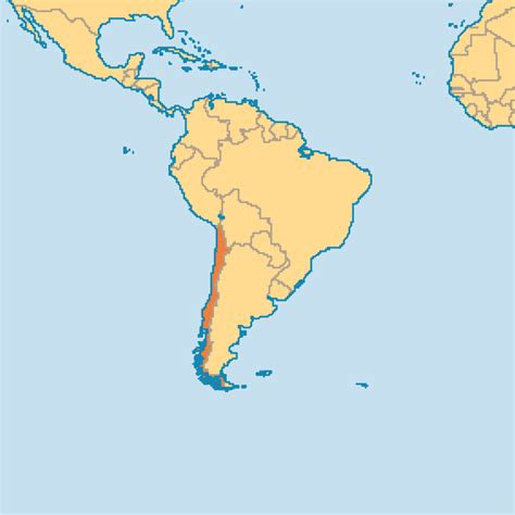 santiago chile on world map a f w i s gary miller ministries 04 04 2014