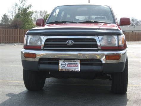 how cars engines work 1997 toyota 4runner security system sell used 1997 toyota 4runner sr5 4x4 strong 3 4l v6 auto sroof no reserve excellent in burbank