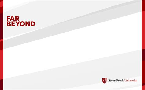 Stony Brook University Brand Desktop Wallpaper Stony Brook Powerpoint Template