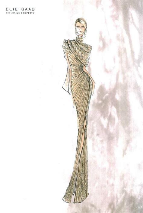 fashion illustration elie saab elie saab sketches fashion drawing reference