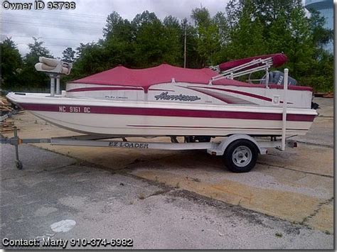 hurricane boats for sale by owner 2006 hurricane 198 r fundeck pontooncats