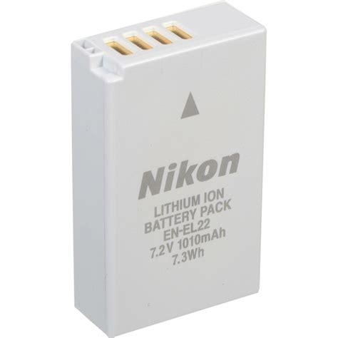 Battery Nikon En El22 1 nikon en el22 1010mah 7 2v rechargeable lithium ion