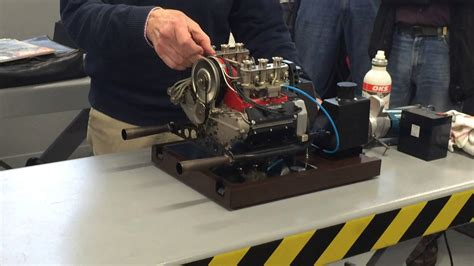 porsche motors porsche model engine scale 1 3 working demonstration