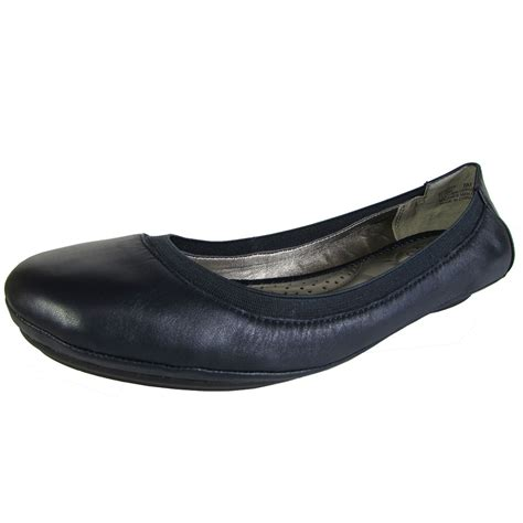flat ballet shoes me womens flynn leather ballet flat shoe ebay