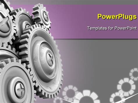 mechanic gears and wheels powerpoint template background powerpoint template cog gear wheel background 13359