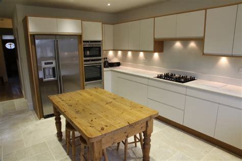 modern handleless kitchens modern handleless white kitchen bespoke kitchens