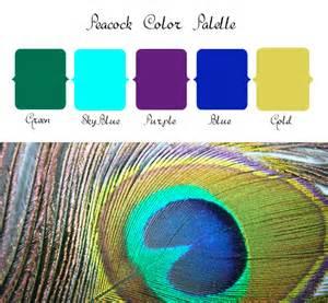 peacock color palette peacock wedding color palette