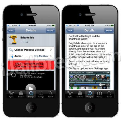 download full version apps cydia brightslide cydia tweak mini version of sbsettings for