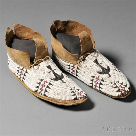 beaded moccasins for sale arapaho moccasins for sale american