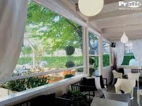 tende per esterni antipioggia chiusure per esterni in pvc per balconi verande porticati bar