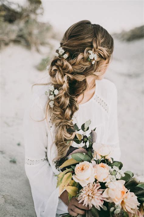 bohemian wedding hairstyles for hair stunning wedding hairstyles with braids for amazing look