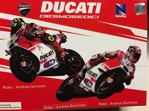 Diecast New Moto Gp Ducati Skala 1 12 Authorized andre dovizioso ducati desmosedici moto gp 04 model