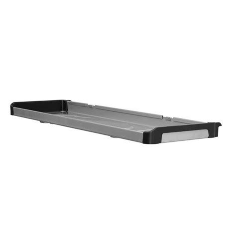 rubbermaid fasttrack 31 5 in w x 9 5 in d large metal