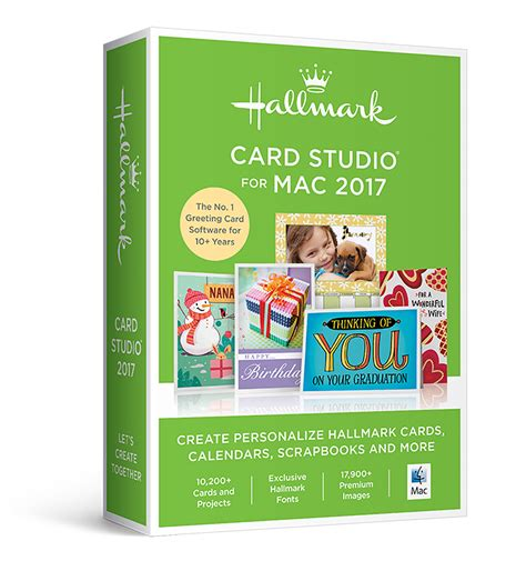 card software for mac hallmark card studio 2017 for mac