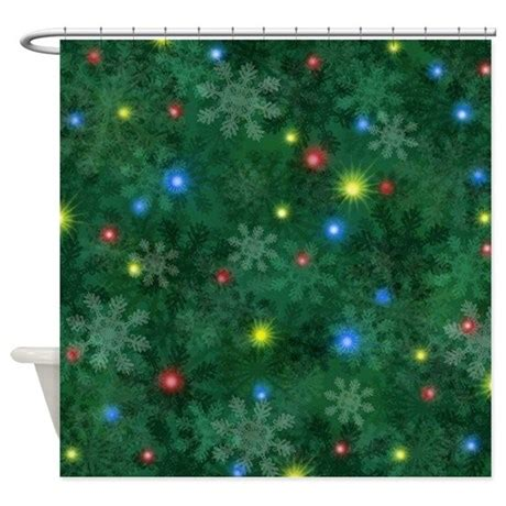 christmas lights that look like snow falling snow lights shower curtain by admin cp16441091