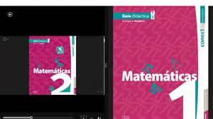 libros de matematicas de secundaria conect estrategias