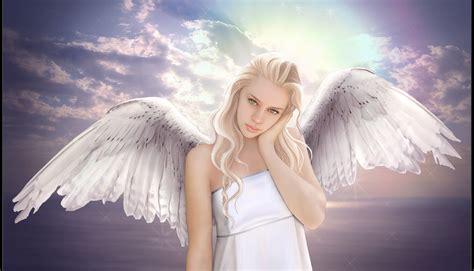 wallpaper girl angel fantasy angel girl