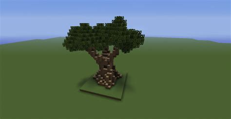 how to make a big tree my big tree all done by minecraft
