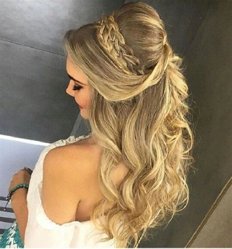 of the hairstyles partial updo 25 best ideas about partial updo on pinterest half up