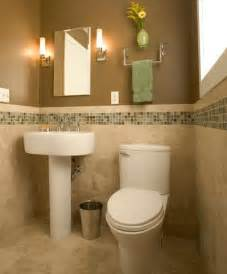 Half Bathroom Design by Diy Mosaic Tile Accents To Dress Up Your Bathroom Design